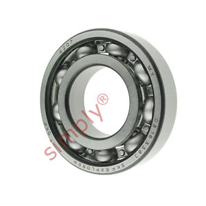 high temperature SKF 6207 Open Deep Groove Ball Bearing 35x72x17mm