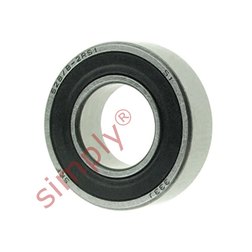 high temperature SKF 628/82RS1 Rubber Sealed Deep Groove Ball Bearing 8x16x5mm