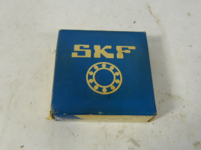 high temperature SKF 6303-2RS1 Ball Bearing 17 X 47 X 14 MM !  !