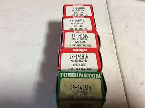 high temperature 6-Torrington Bearings #IR-141816, Free shipping to lower 48, 30 day warranty