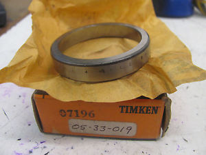 high temperature TIMKEN 07196 ROLLER BEARING CUP