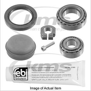 high temperature WHEEL BEARING KIT Mercedes Benz CLK Class Coupe CLK200Kompressor C209 1.8L – 182