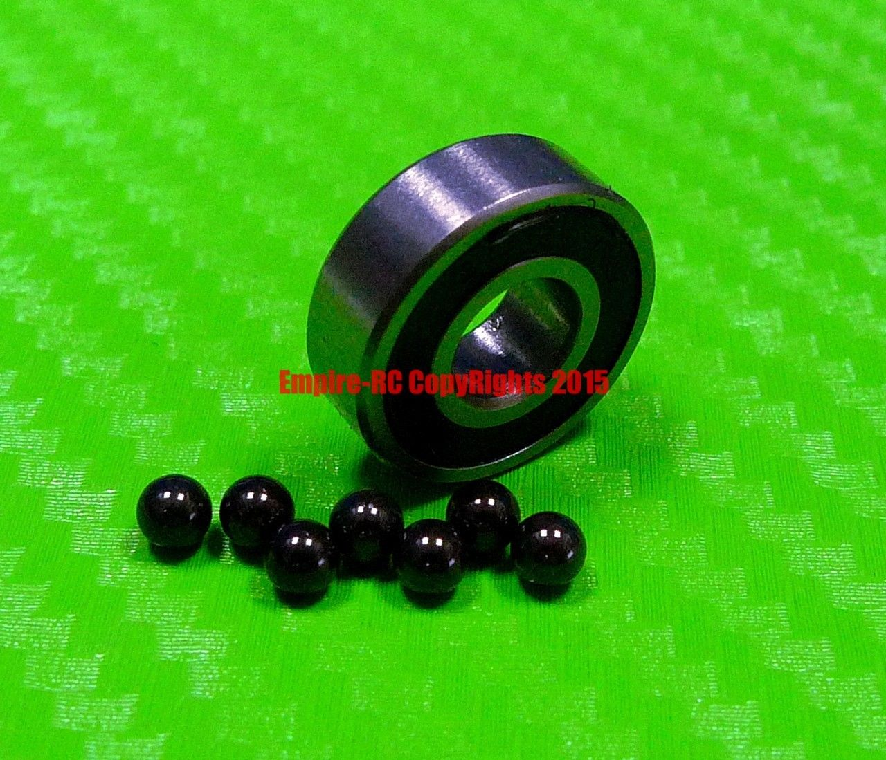 high temperature [QTY 4] (10x19x5 mm) S6800-2RS Stainless HYBRID CERAMIC Ball Bearings BLK 6800RS