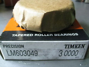 high temperature TIMKEN LM603049 3 Tapered Roller Bearing