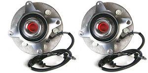 high temperature 2 New DTA Front Wheel Hub and Bearing Assemblies with Warranty 6 Stud 515046