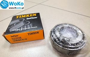 high temperature Tapered roller bearing 32208 TIMKEN dimension 40x80x24,75 free fast shipping