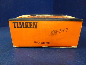 high temperature Timken 842 Single Row Tapered Roller Bearing Cone