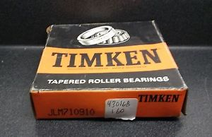 high temperature Timken Tapered Roller Bearing JLM710910 cup