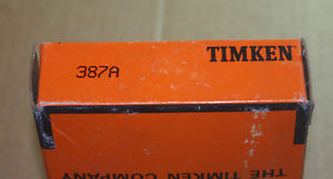 high temperature Timken 387A Tapered Roller Bearing