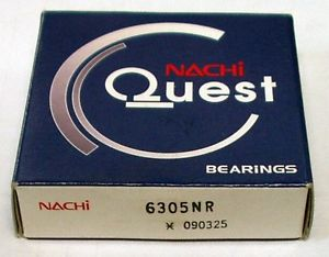 high temperature 6305NR Nachi Bearing Open Snap Ring Japan 25x62x17 Ball Bearing Rolling