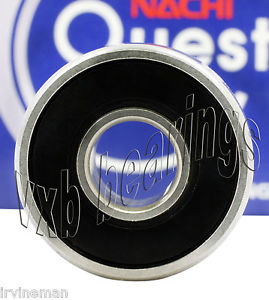 high temperature 608-2RS EZO/Nachi Bearing Rubber Sealed Made in Japan 8x22x7 Ball Bearings 608RS