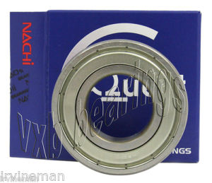 high temperature 6208Z Nachi Ball Bearing 40x80x18 Quality Made in Japan