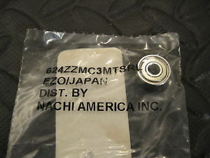 high temperature NACHI 624ZZMC3MTSRL Bearing,  4mm x 13mm x 5mm