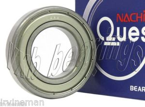 high temperature 6200ZE Nachi Bearing One Shield C3 Japan 10x30x9 Ball Bearings 14387