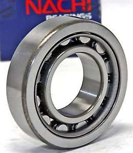 high temperature NU204 Nachi Cylindrical Bearing Steel Cage Japan 20x47x14 Bearings