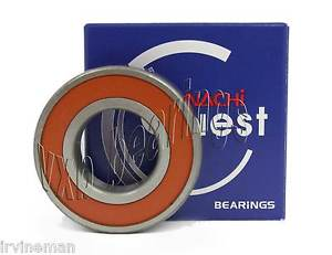 high temperature 6002-2NSE Nachi 15x32x9 15mm/32mm/9mm Sealed Radial Ball Bearing (Made in Japan)
