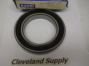 high temperature NACHI 6017-2NSL C3 SEALED ROLLER BEARING   CONDITION IN BOX