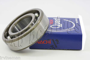 high temperature 6017 Nachi Open Deep Groove Ball Bearing Made in Japan