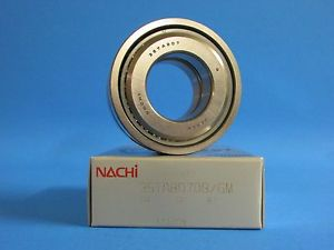 high temperature SET OF TWO NACHI 35TAB07DB/GM P4 ABEC-7 BALL SCREW SUPPORT BEARING.