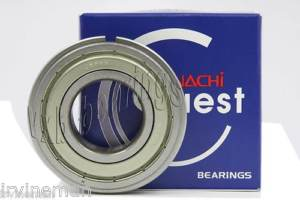 high temperature 6016ZZENR Nachi Bearing Shielded C3 Snap Ring Japan 80x125x22 Ball 9631
