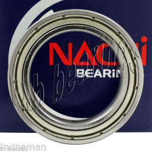 high temperature 6820ZZ Nachi Bearing Shielded C3 Japan 100x125x13 Ball Bearings