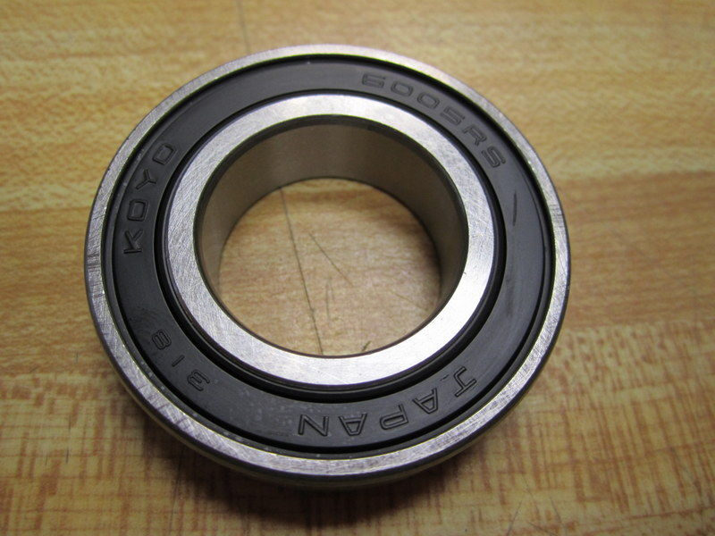 high temperature Koyo 6005RS C3 Deep Groove Sealed Ball Bearing 60052RSC3GXM