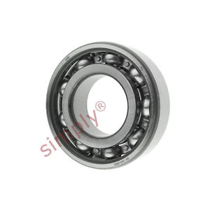 high temperature SKF 6205 Open Deep Groove Ball Bearing 25x52x15mm
