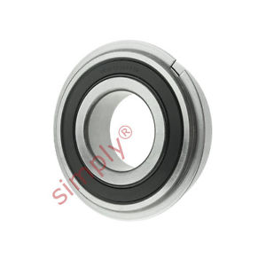 high temperature SKF 62052RSRNR Sealed Snap Ring Deep Groove Ball Bearing 25x52x15mm