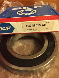 high temperature BEARING BALL DEEP GROOVE 6212-RS1Z/C3GJN SKF 6212