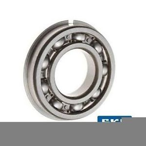 high temperature 6205-NR C3 25x52x15mm Open Type Snap Ring SKF Radial Deep Groove Ball Bearing