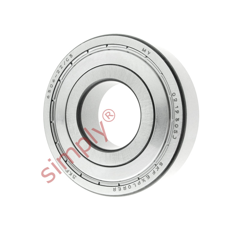 high temperature SKF 63062ZC3 Metal Shielded Deep Groove Ball Bearing 30x72x19mm