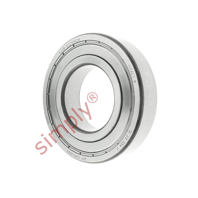 high temperature SKF 62082ZC3GJN Shielded High Temp Deep Groove Ball Bearing 40x80x18mm