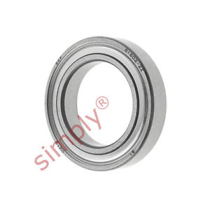 high temperature SKF 68022Z Metal Shielded Thin Section Deep Groove Ball Bearing 15x24x5mm