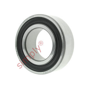 high temperature SKF 630052RS1 Rubber Sealed Deep Groove Ball Bearing 25x47x16mm