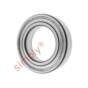 high temperature SKF 60082Z Metal Shielded Deep Groove Ball Bearing 40x68x15mm