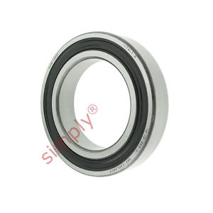 high temperature SKF 60102RS1 Rubber Sealed Deep Groove Ball Bearing 50x80x16mm