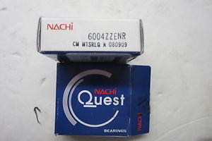 high temperature  NACHI 6004ZZENR BEARING LOT OF 2