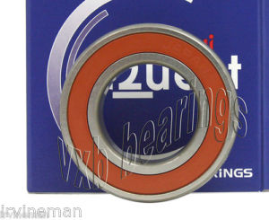 high temperature 6207-2NKE9 Nachi Bearing Two Non Contact Seals Japan 35x72x17 Ball 14568
