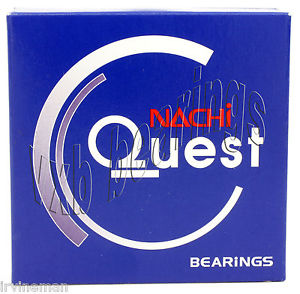 high temperature NJ317 Nachi Cylindrical Roller Bearing 85x180x41 Steel Cage Japan 10379