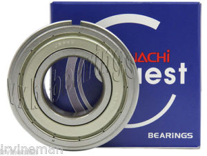 high temperature 6008ZZENR Nachi 40mm x 68mm x 15mm Shielded C3 Snap Ring Japan Ball Bearings
