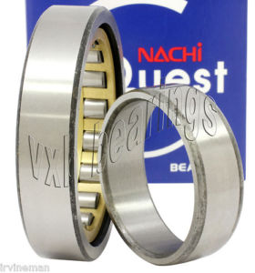 high temperature NU322MY Nachi Cylindrical Roller Bearing 110x240x50 Bronze Cage Japan 10487