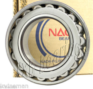 high temperature 22232EW33 Nachi Spherical Roller Bearing Bronze Cage Japan 160x290x80 10540