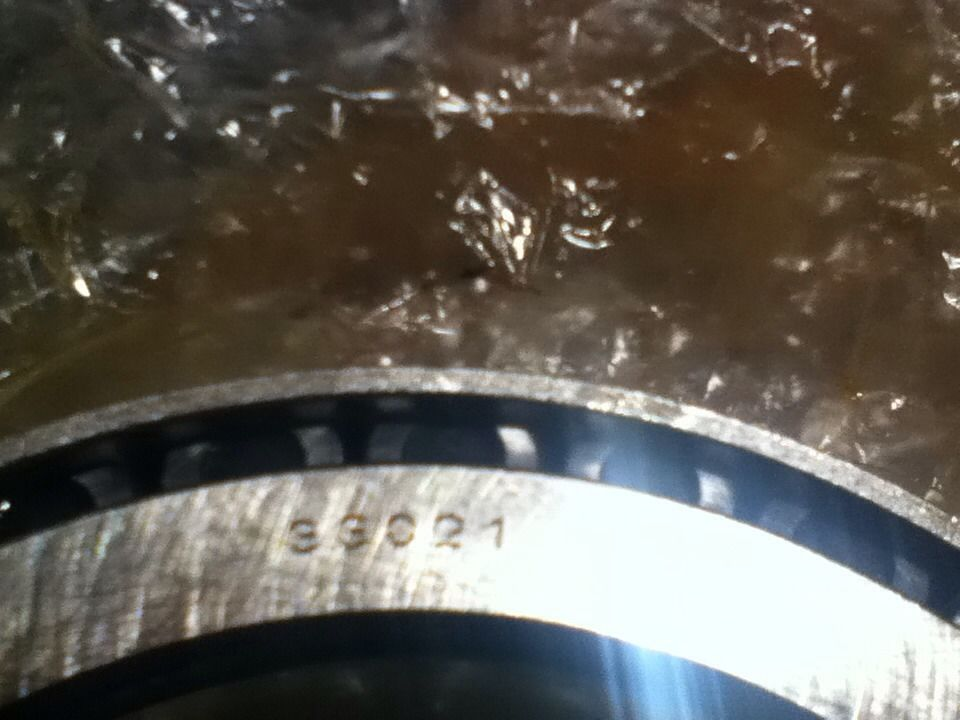 high temperature  FAG ROLLER BEARING TAPERED NIB 33021 Bearing only no race