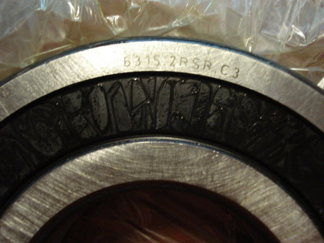 high temperature FAG Deep Groove Bearing,Sealed Sides , 75mm x 160mm x 37mm, 6315.2RSR.C3 /FE2/RL