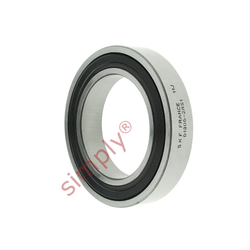 high temperature SKF 69062RS1 Rubber Sealed Thin Section Deep Groove Ball Bearing 30x47x9mm