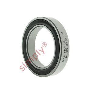 high temperature SKF 618052RS1 Rubber Sealed Thin Section Deep Groove Ball Bearing 25x37x7mm