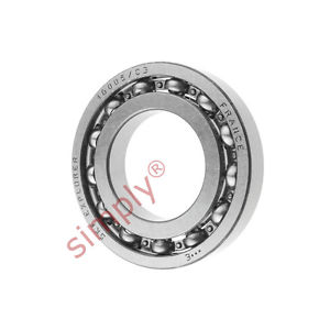 high temperature SKF 16005C3 Open Deep Groove Ball Bearing 25x47x8mm