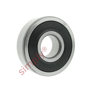 high temperature SKF 62062RS1C3WT Rubber Sealed Deep Groove Ball Bearing 30x62x16mm