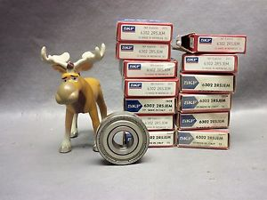high temperature SKF Bearing 6302-2RSJEM Single-Row Shielded Ball Bearing Lot of 13