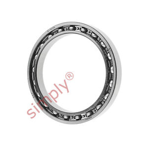 high temperature SKF 6808 Open Type Thin Section Deep Groove Ball Bearing 40x52x7mm